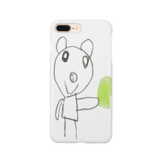 どうぶつえん(くま) Smartphone cases