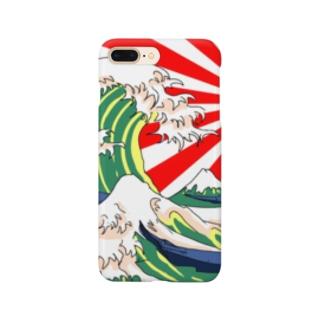 天晴れ富嶽三十六景 Smartphone cases
