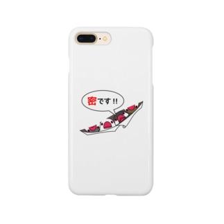 密です!フィンチさん【まめるりはことり】 Smartphone cases