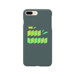 平行四辺形デザイン チャコール ケース Smartphone cases