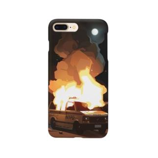 CiQ-StudioのBurnin' Car Smartphone cases