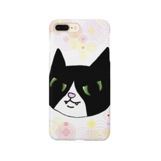 白足袋福蔵 Smartphone cases
