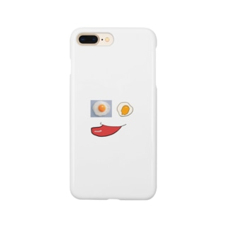 しげぞのへたくそ目玉焼き Smartphone cases