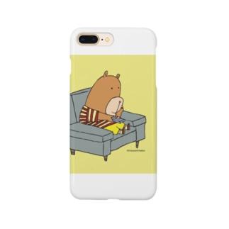 キャラクタークリエーションの小熊のリーガン Smartphone cases