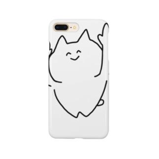 asobiたいねこ(全身) Smartphone cases