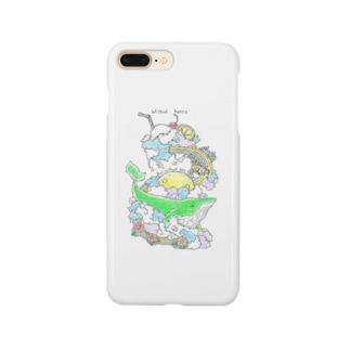 さこつのNowhere Land Smartphone cases