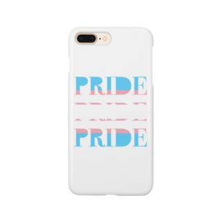 PRIDE トランスジェンダー Smartphone cases