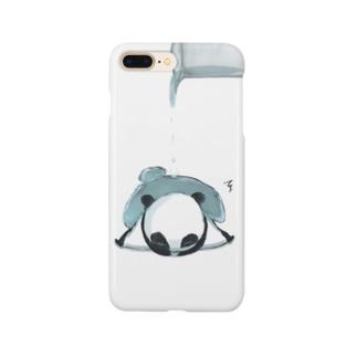 つぶされパンダ Smartphone cases