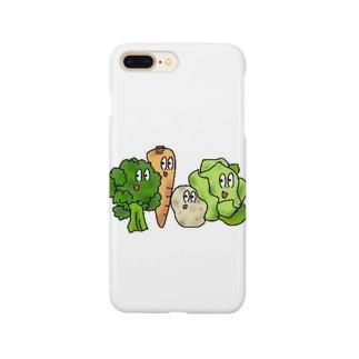 ベジタブルズ Smartphone cases