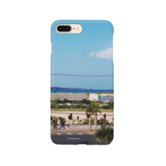 恩納の海岸線 Smartphone cases