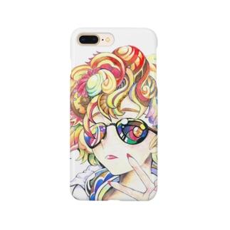 ちょいワルgirl Smartphone cases