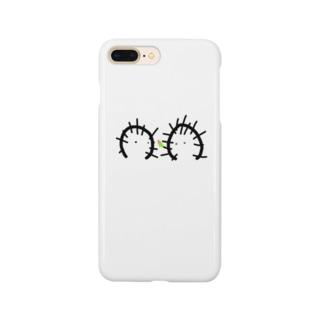 らっしゃいなちのみせのさぼたとさぼこ・つぼみ Smartphone cases