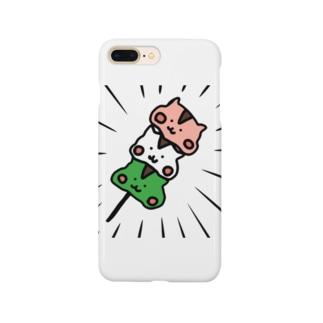 リス団子 Smartphone cases