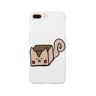 四角いリス Smartphone cases