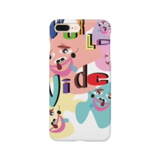 mukin-tmのホモサピエンス君(世界) Smartphone cases