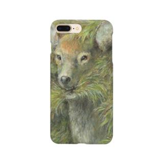 世界を食べる鹿 Smartphone cases