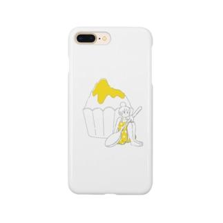 かき氷ちゃん(レモン) Smartphone cases