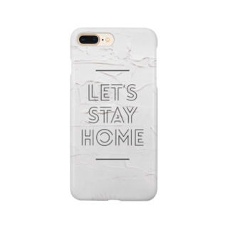 Let's stay home  Smartphone cases