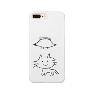 ねこはりねずみ Smartphone cases