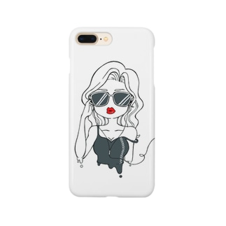sexy girl(クール) Smartphone cases