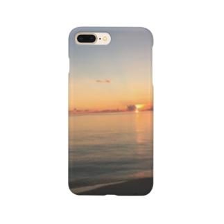 chonzuのサンセット スマホケース Smartphone cases