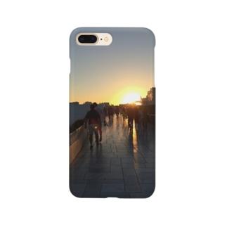 Takaminのサントリーニの夕陽 Smartphone cases