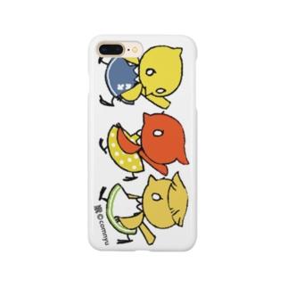 『仲良しカナリア』 Smartphone cases