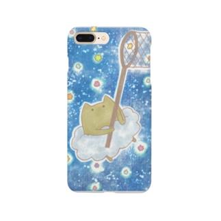 雲ねこちゃん~金平糖をあつめる~ Smartphone cases