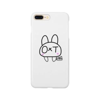 オクトうさぎ Smartphone cases