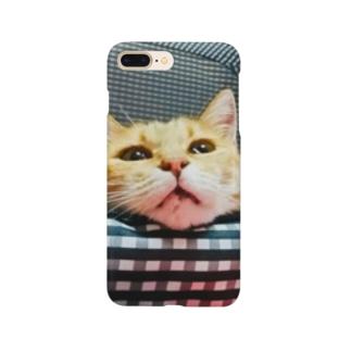 のほほんぷちょちゃんは猫。 Smartphone cases