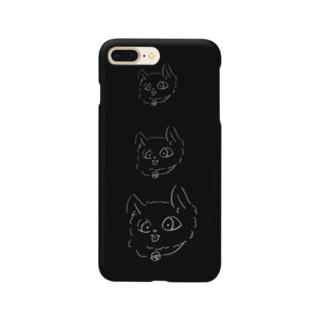 かいねこべいべ Smartphone cases