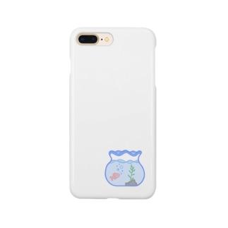 金魚鉢 Smartphone cases