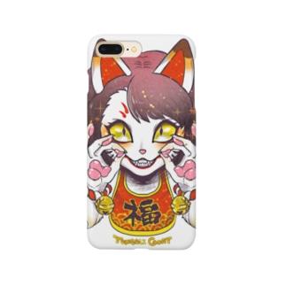 妖気な福ちゃん Smartphone cases