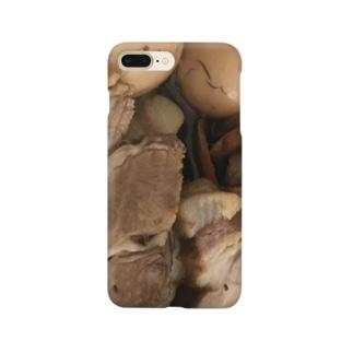 味玉and焼豚 Smartphone cases