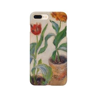 クロード・モネ / 1883 / Three Pots of Tulips / Claude Monet Smartphone cases