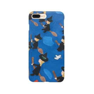 魔女の集団下校 Smartphone cases
