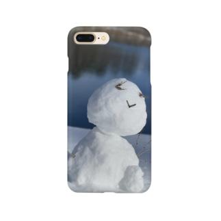 スノーマン Smartphone cases