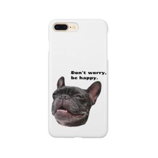根拠なくポジティブな犬 Smartphone Case