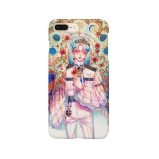 微睡む雛芥子 Smartphone cases