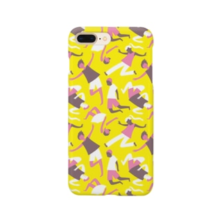 weightlessness - yellow Smartphone cases