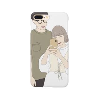 ちょこびと旦那 Smartphone cases