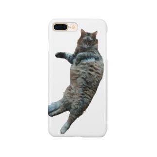 ぐうたらお猫様 Smartphone cases