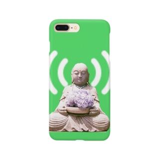 モバイル六地蔵さん Smartphone cases