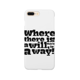Where there is a will, there is a way! Smartphone cases