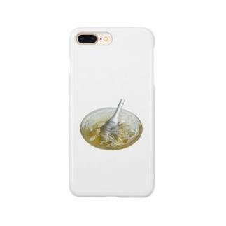 おりこう猫の愛玉子(オーギョーチー) Smartphone cases