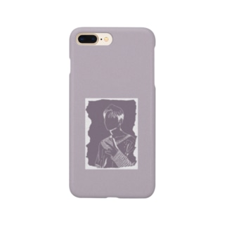 シルエットピース Smartphone cases