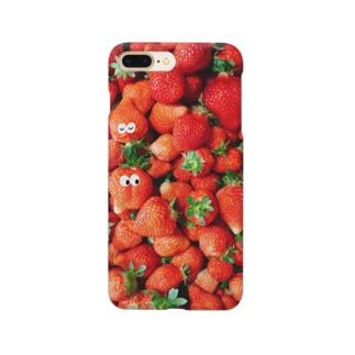 苺さん苺ちゃん Smartphone cases