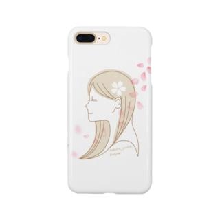桜女子 Smartphone cases