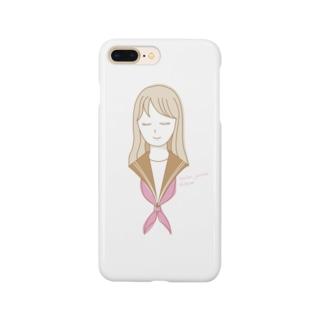 セーラー女子 Smartphone cases