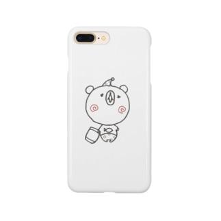 眠りの森のクマさん Smartphone cases